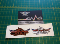 Orange Riders Group Sticker Pack